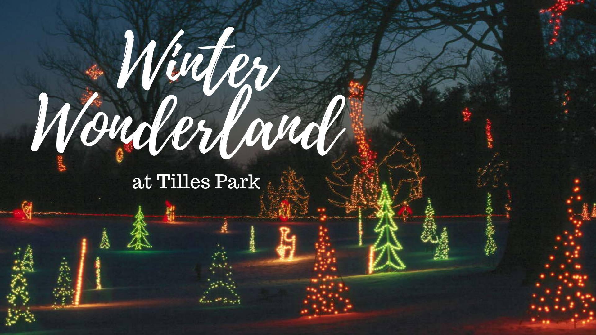 Winter Wonderland in Tilles Park | St. Louis Parent