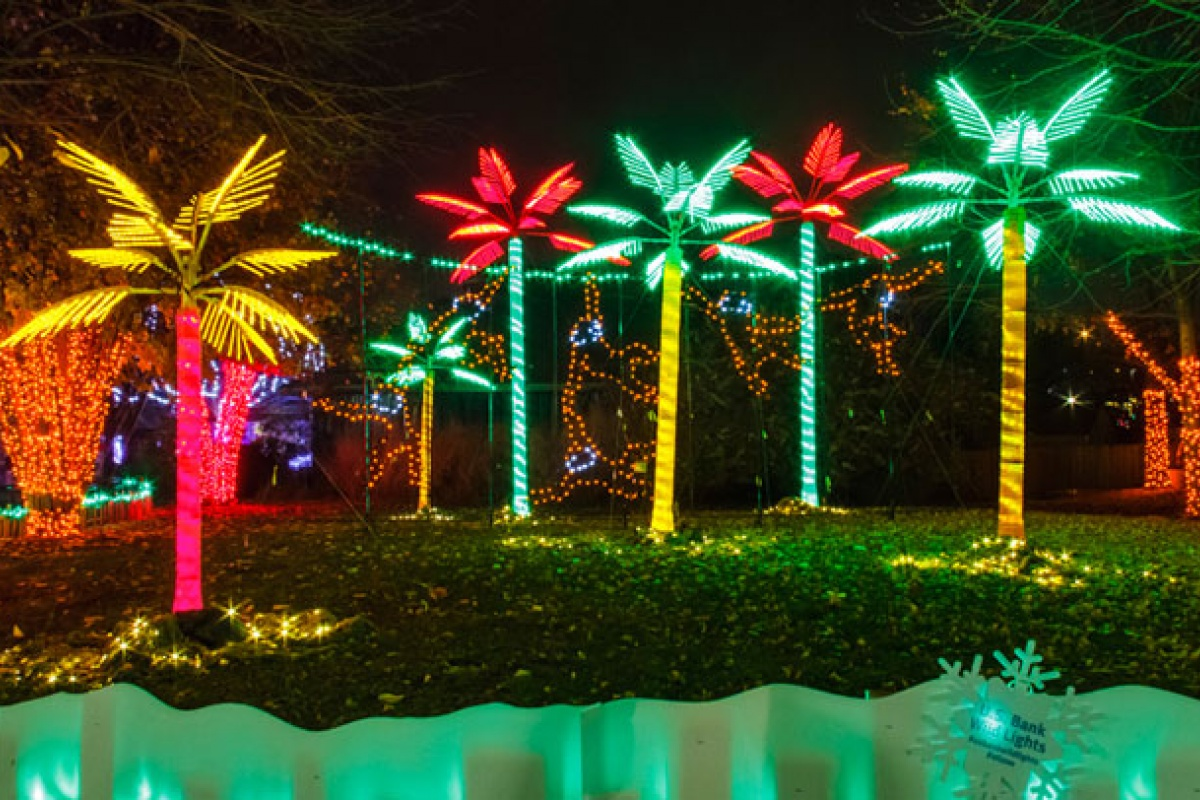 Holiday Lights St Louis 2017 - Holiday Light Show Rotary Botanical Gardens December 22