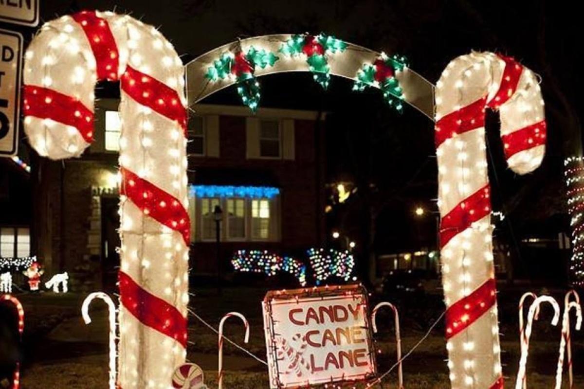 Candy Cane Lane Holiday Lights Trolley Tour   stlparent.com