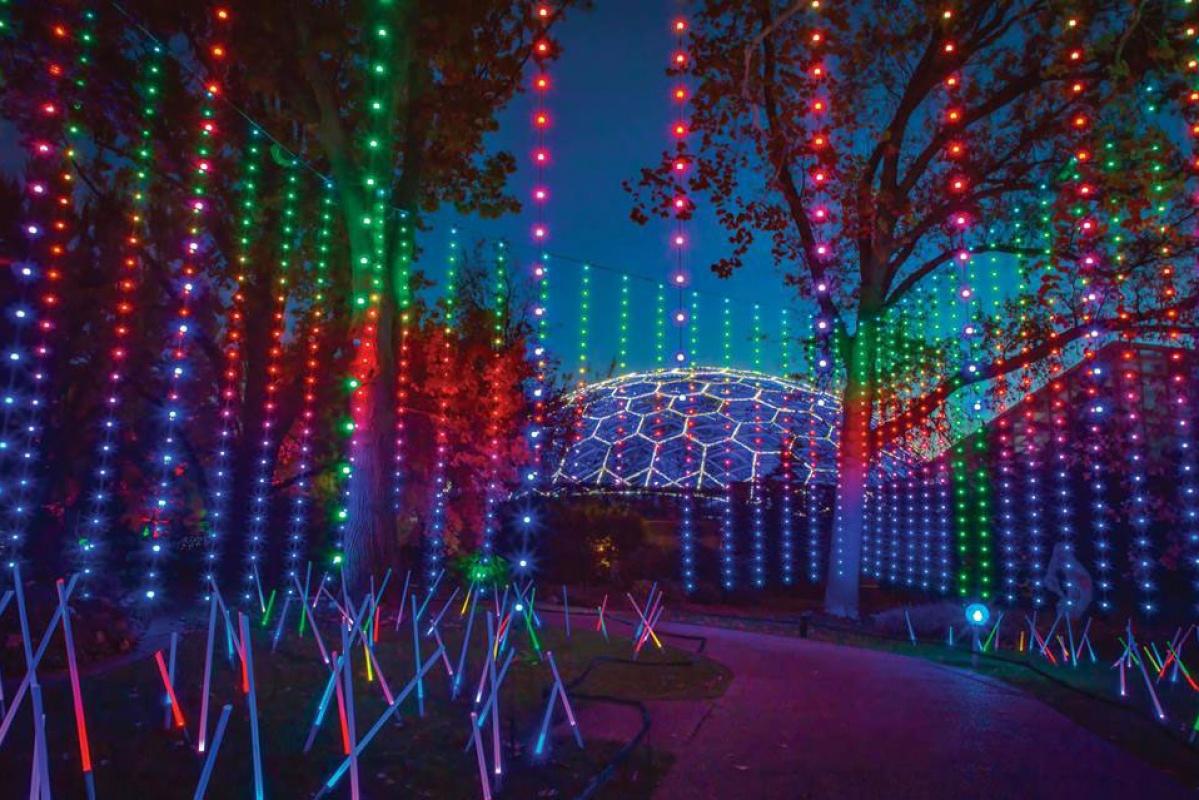 Garden Glow at the Missouri Botanical